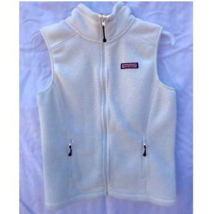 Vineyard Vines Women's Cream Westerly Vest